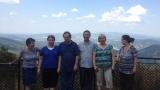 2013. augusztus, Dobogókő. Liu Yuantong kínai csikung mester túristaként Magyaországra látogatott