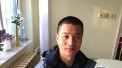 Xi Xiaofeng mester, Debrecen, 2014. április